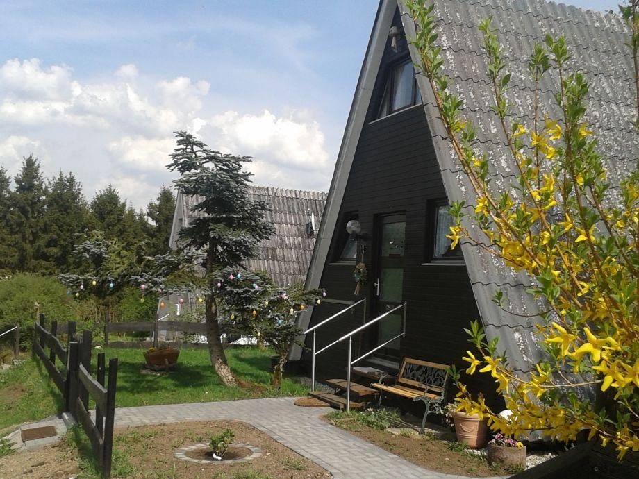 Eingang Eifeler Finnhaus