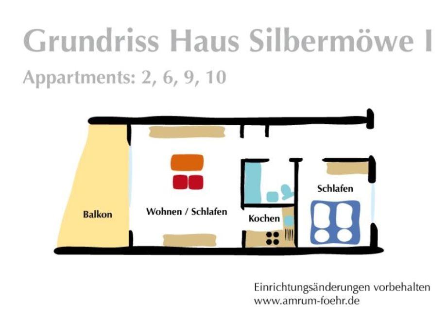 ferienwohnung 2 im haus silberm we f hr firma haus silberm we herr thore riemann. Black Bedroom Furniture Sets. Home Design Ideas