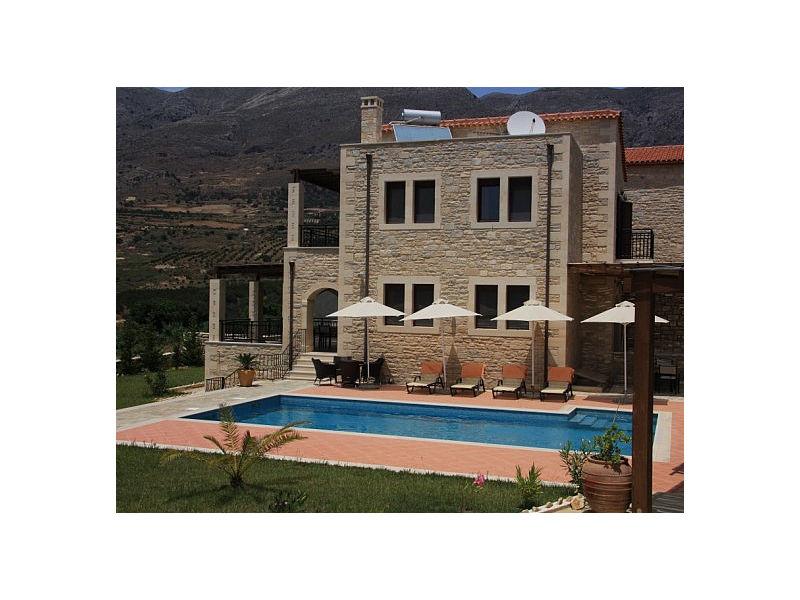 Ferienhaus Villa Asteri mit großem Pool