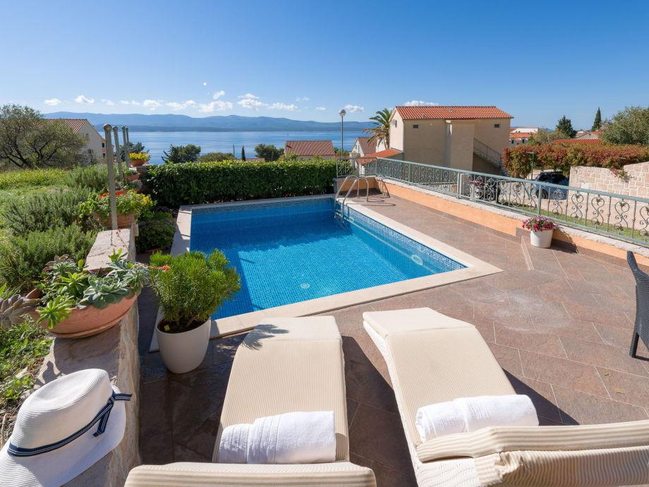 Außenaufnahme Villa Brac Stone with Swimming Pool