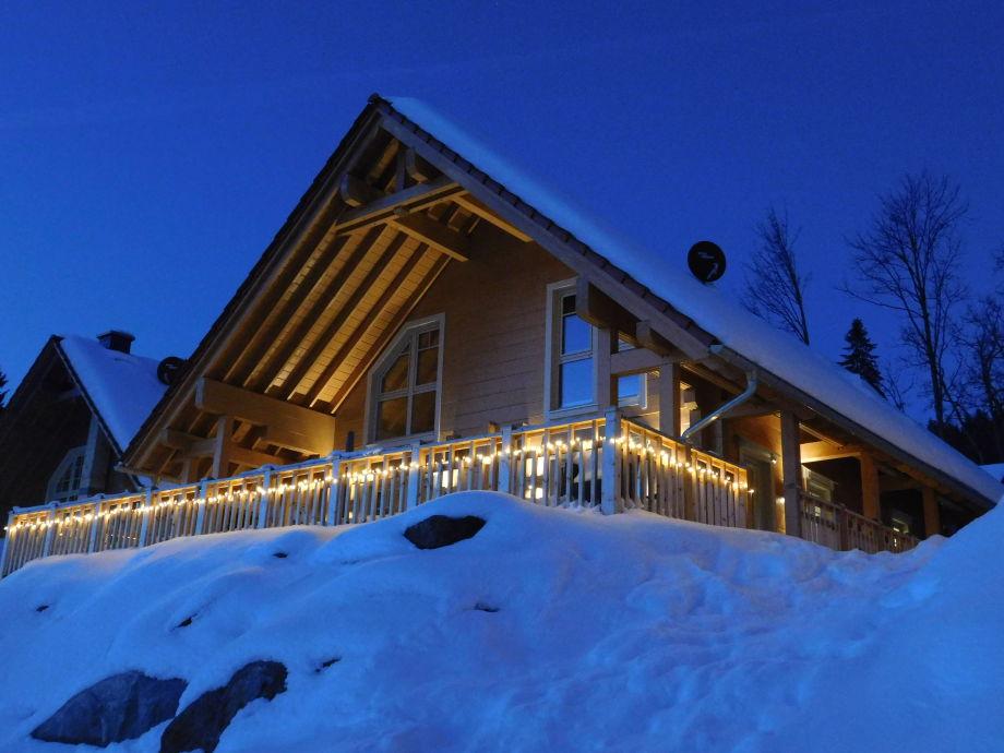 Winterwonderland in der Weihnachtszeit