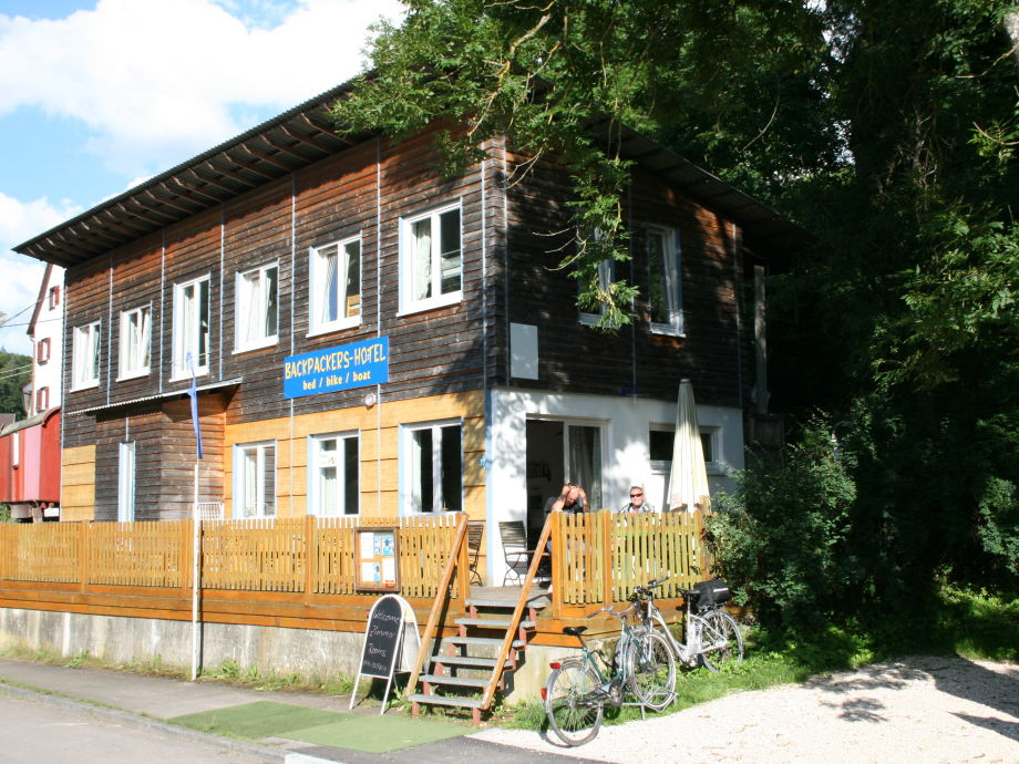 Backpackers-Hotel an der Donau