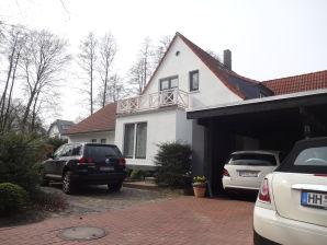 Ferienwohnung im Hamburger Villenviertel