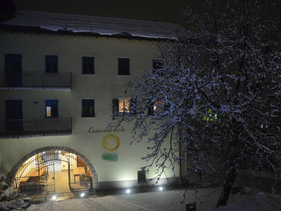 Exterior view winter
