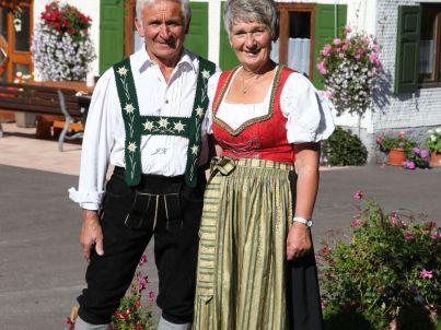 Ihr Gastgeber Josef u. Elfriede Kugler