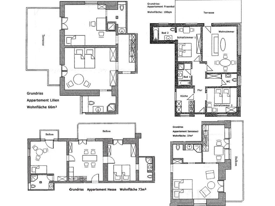 Ferienwohnung fraenkel villa hedwig s dschwarzwald for Moderne villa grundriss