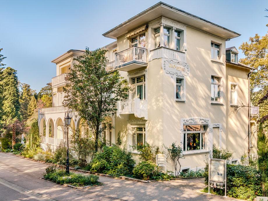 Side view Villa Hedwig