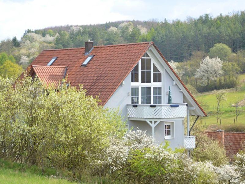 Ferienwohnung Blick Saaletal