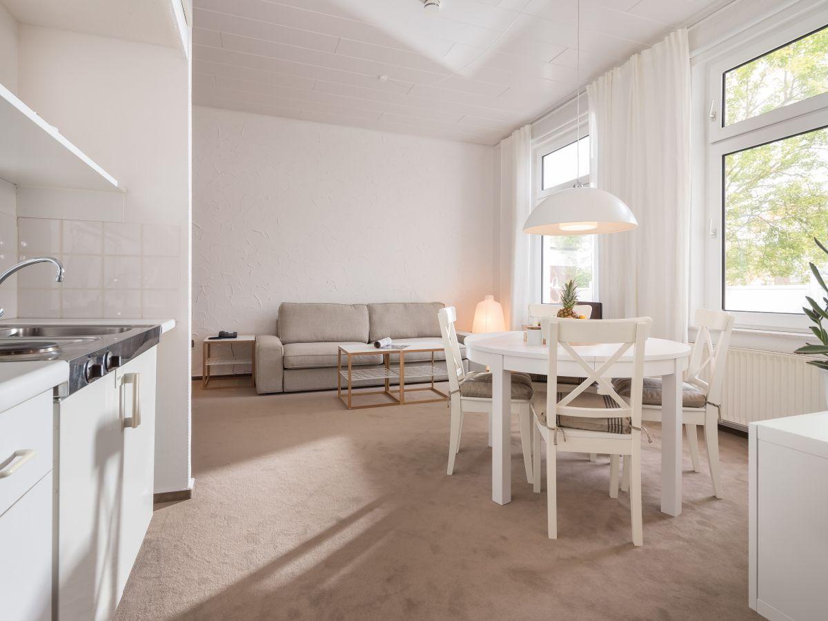 Ferienwohnung logierhaus austernfischer studio norderney for Kochen 10 personen
