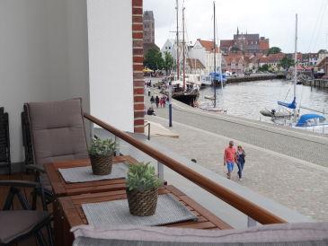 Ferienwohnung Luxus Hafen Suite mit 2 Bädern
