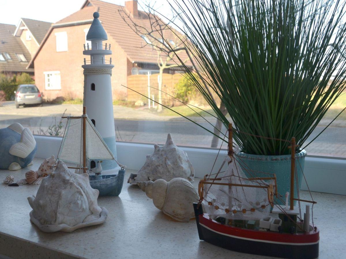 Ferienwohnung treibholz norddeich frau maria peters - Maritime deko ...