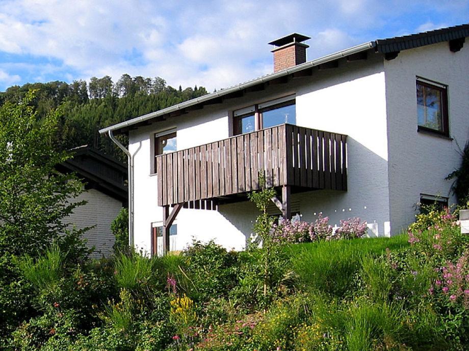 Haus Steinecke, Westansicht