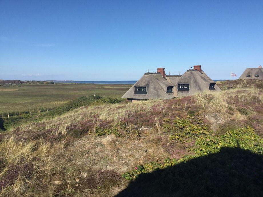 Außenaufnahme Wattblick House - neu mit Blick übers Wattenmeer