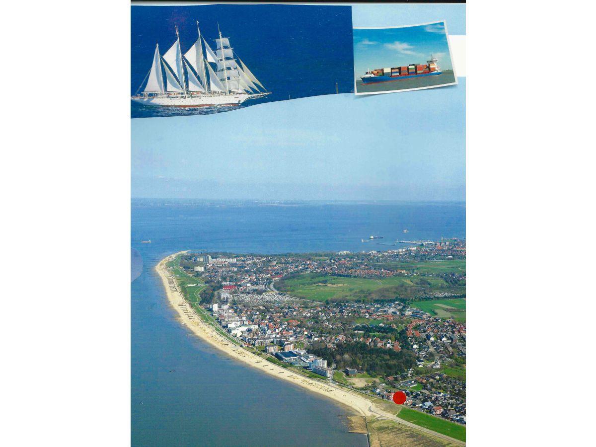 Ferienwohnung Deichblick in Residenz Windjammer, Duhnen, Cuxhaven ...
