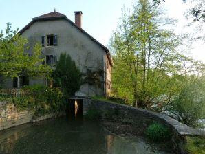 Ferienhaus Alte Mühle am Fluss Ognon