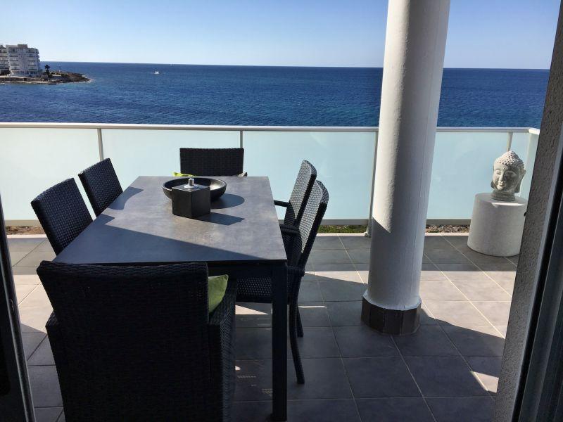 Ferienwohnung Penthouse direkt am Meer