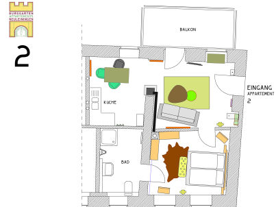 Burggarten Appartement Neuleiningen
