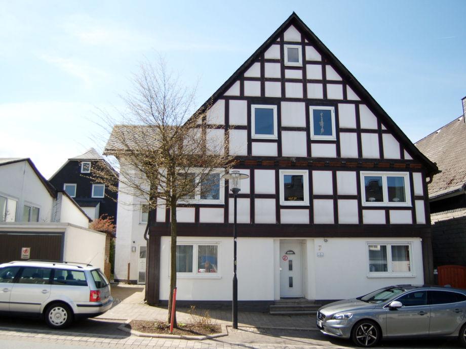 House Marktstrasse in the centre of Winterberg