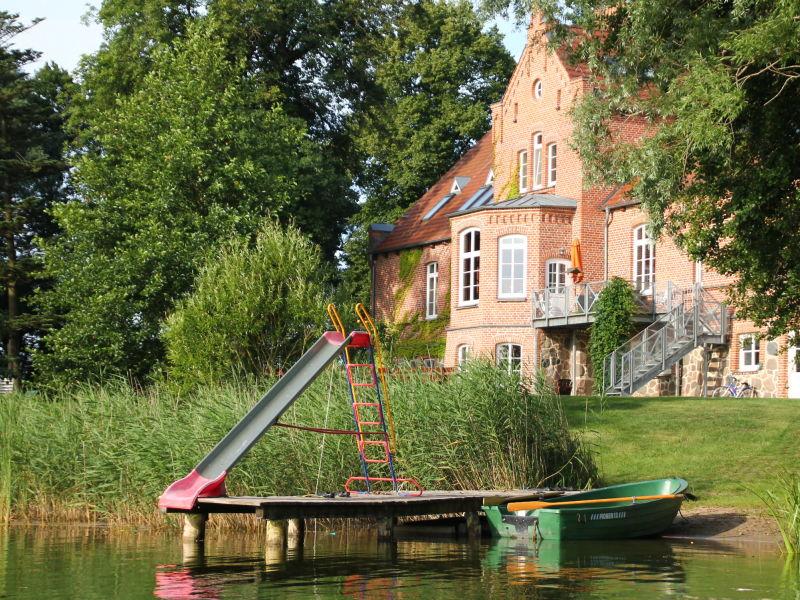 Ferienwohnung Ferien am Hofsee-Seewohnung