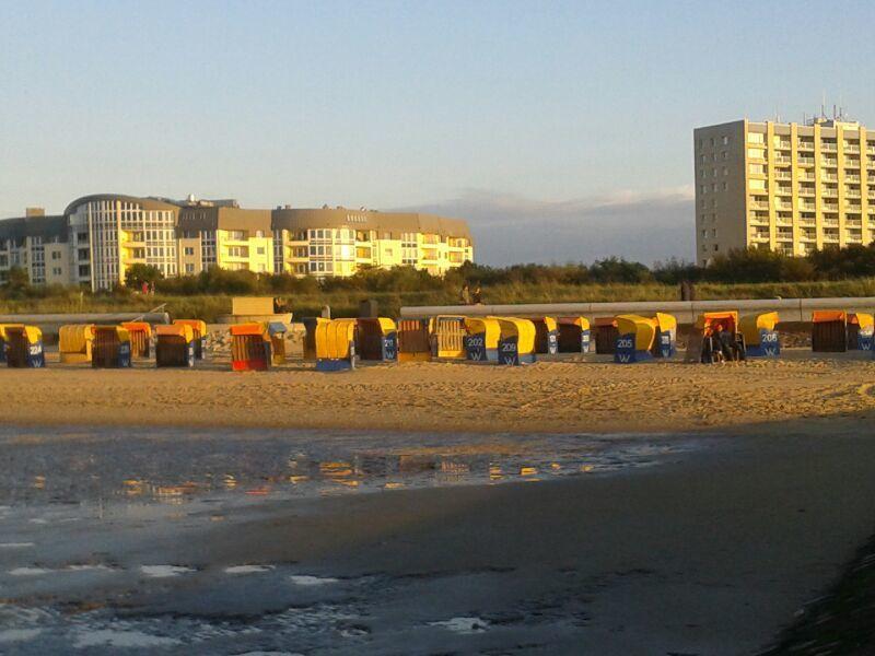 Ferienwohnung Strandhochhaus Döse