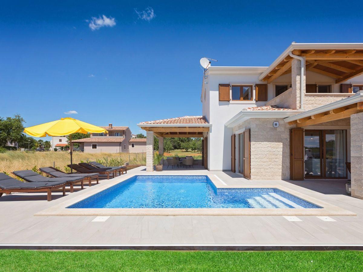 Modernes Haus Mit Pool Und Garten: Minecraft