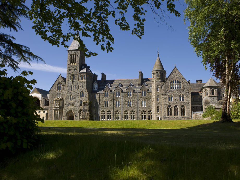 View of the Abbey from Loch Ness