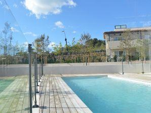 4-Zimmer-Ferienwohnung mit Pool