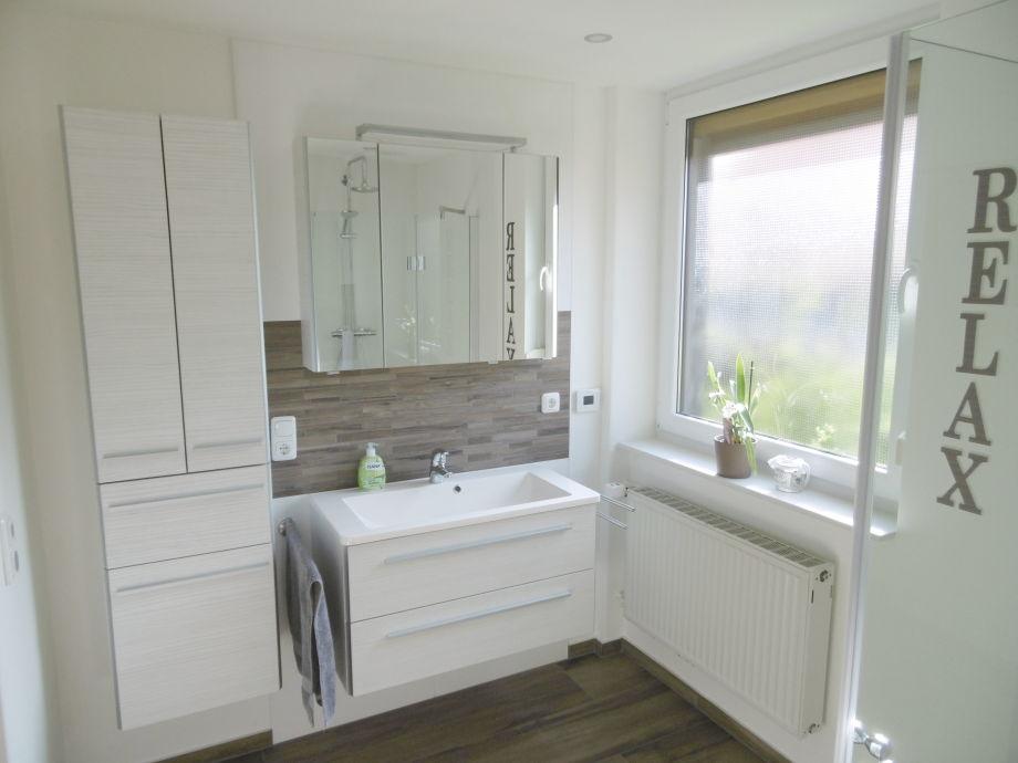 Neu saniertes Badezimmer