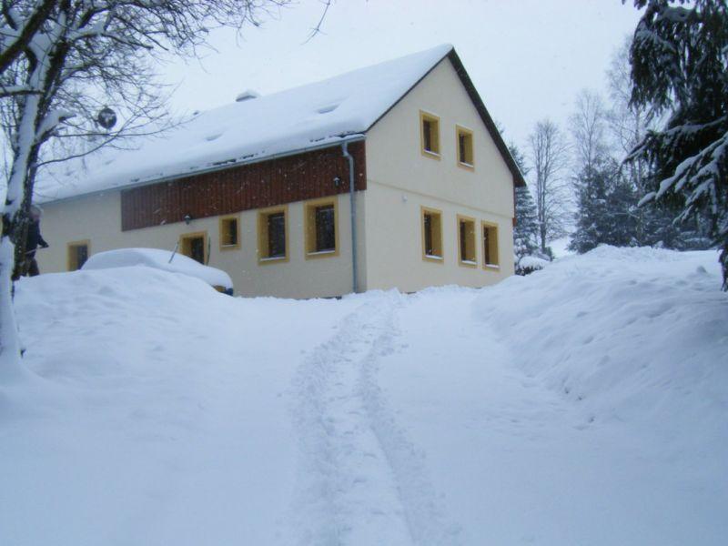 Ferienhaus Ski und Wald