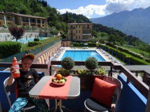 Ferienwohnung Tignale - Appartement Vista Blu 107