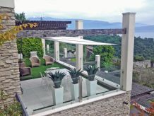 Villa Exklusive Villa Piccolo Paradiso in Toscolano
