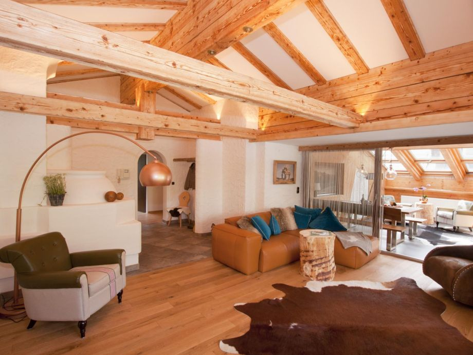 Living-Room with Loggia