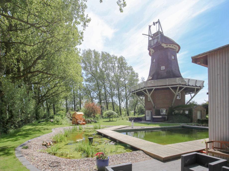 Außenaufnahme Mühle Fortuna