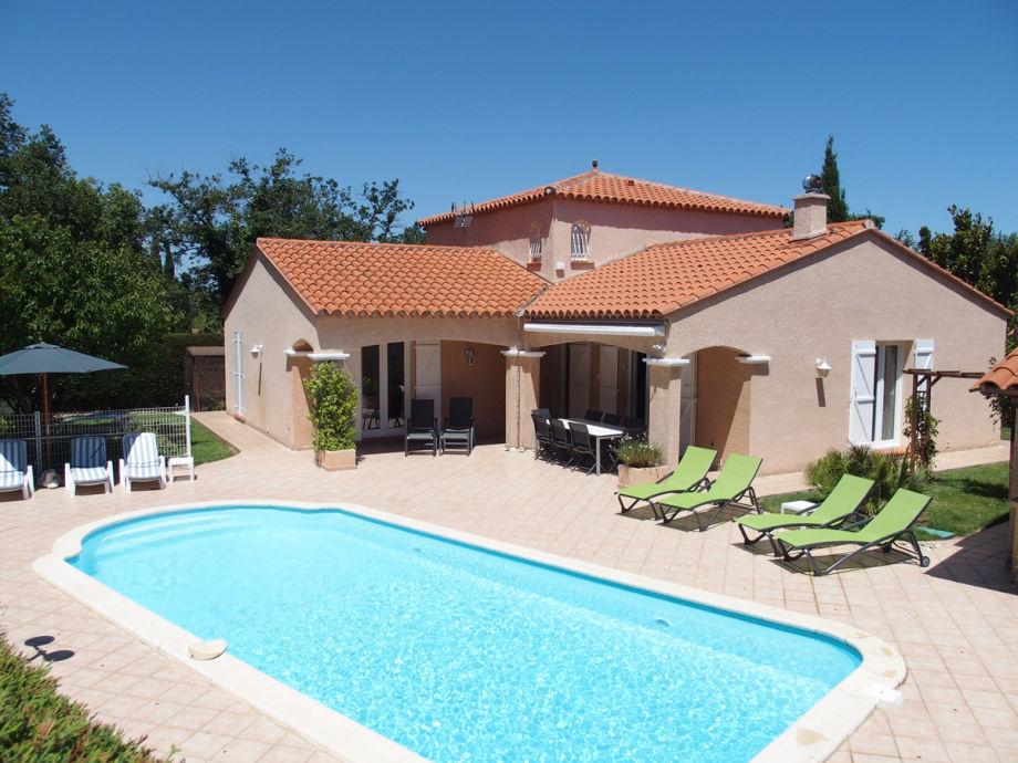 Ferienhaus mit beheizter Pool