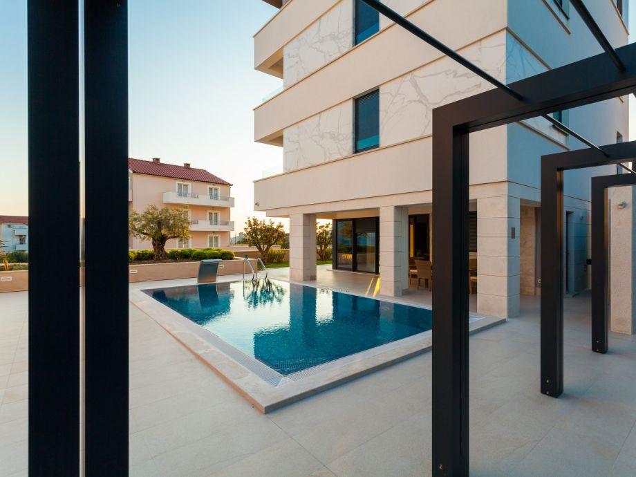 Außenaufnahme Luxury Apartment 32 Podstrana