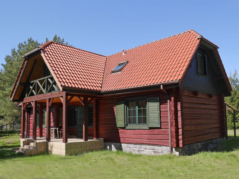 Cottage House in the Kashubian village