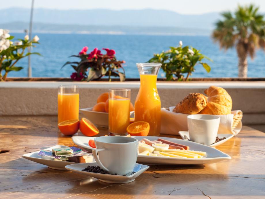 Frühstück in Belvedere