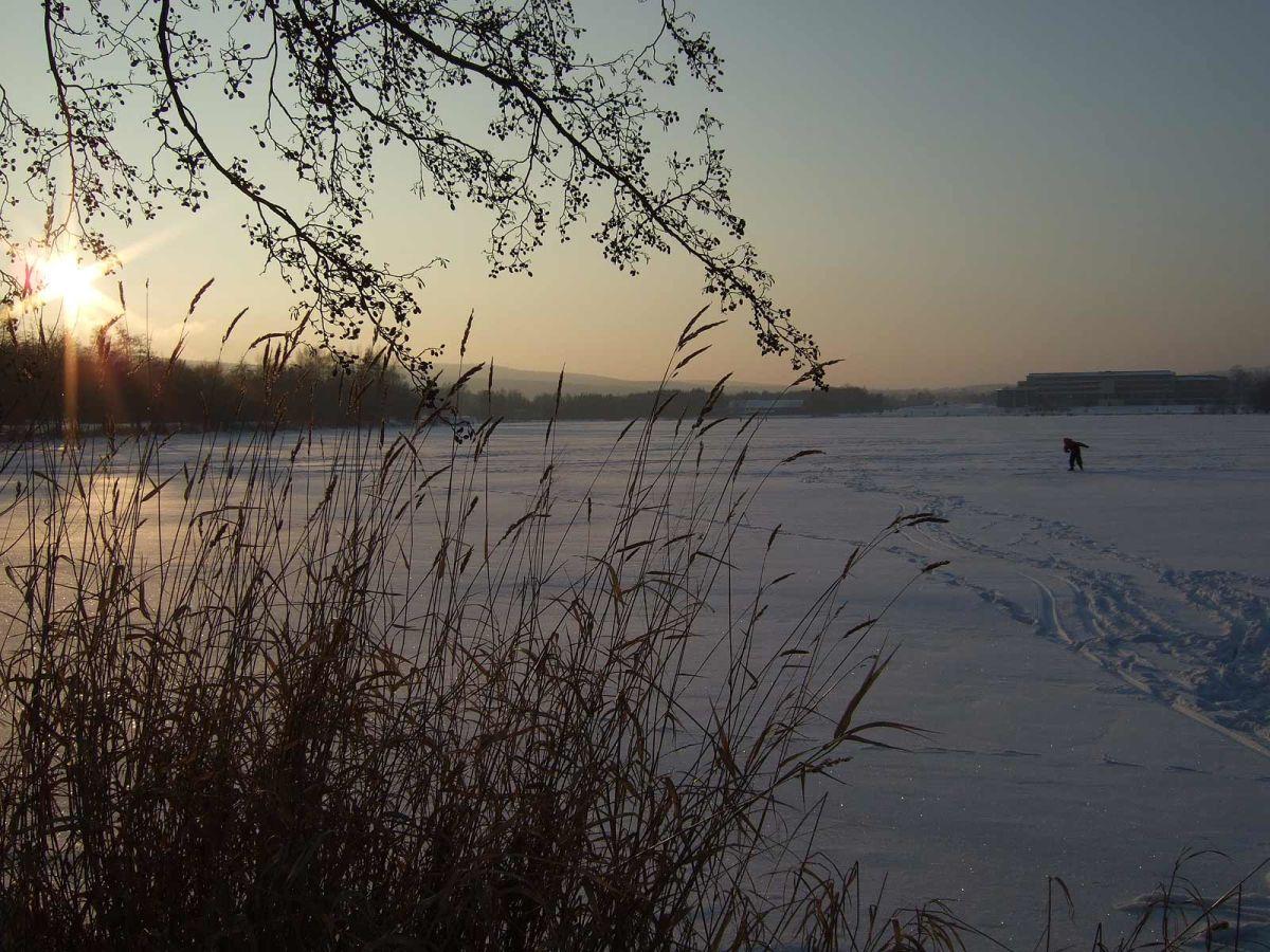 Wohnung Streichen Im Winter : Seeblick im Winter Herbststimmung im Fichtelgebirge