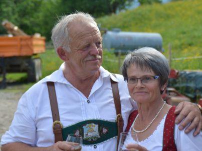 Ihr Gastgeber Alois und Barbara Fäßler