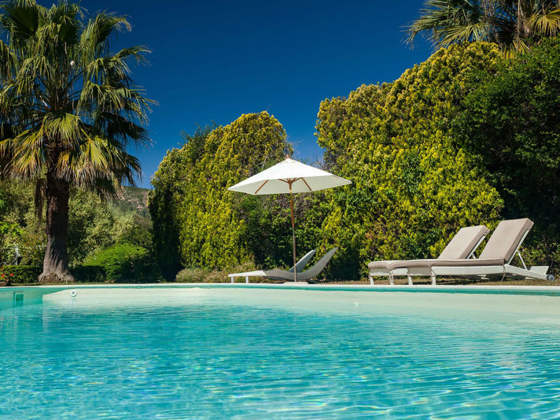 Ferienhaus mit Pool auf Sardinien