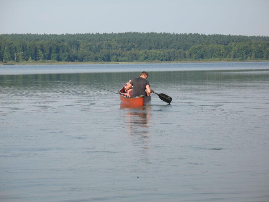 Angeln auf dem Wariner See