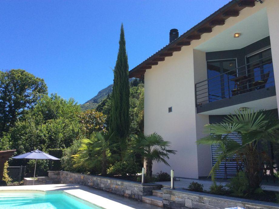 Außenaufnahme Villa Nala