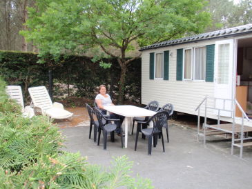Holiday apartment Mobilheim Camping Messangen