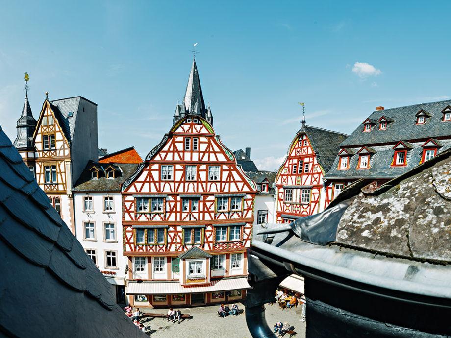 Fachwerkhaus am historischen Marktplatz