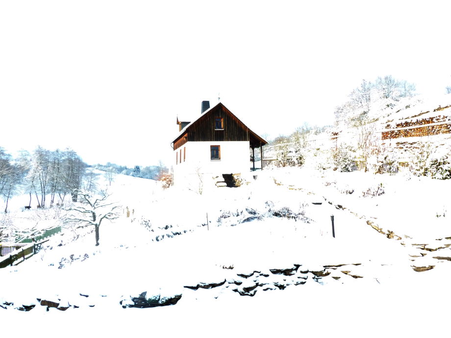 Ferienhaus  Odins Mühle im Winter