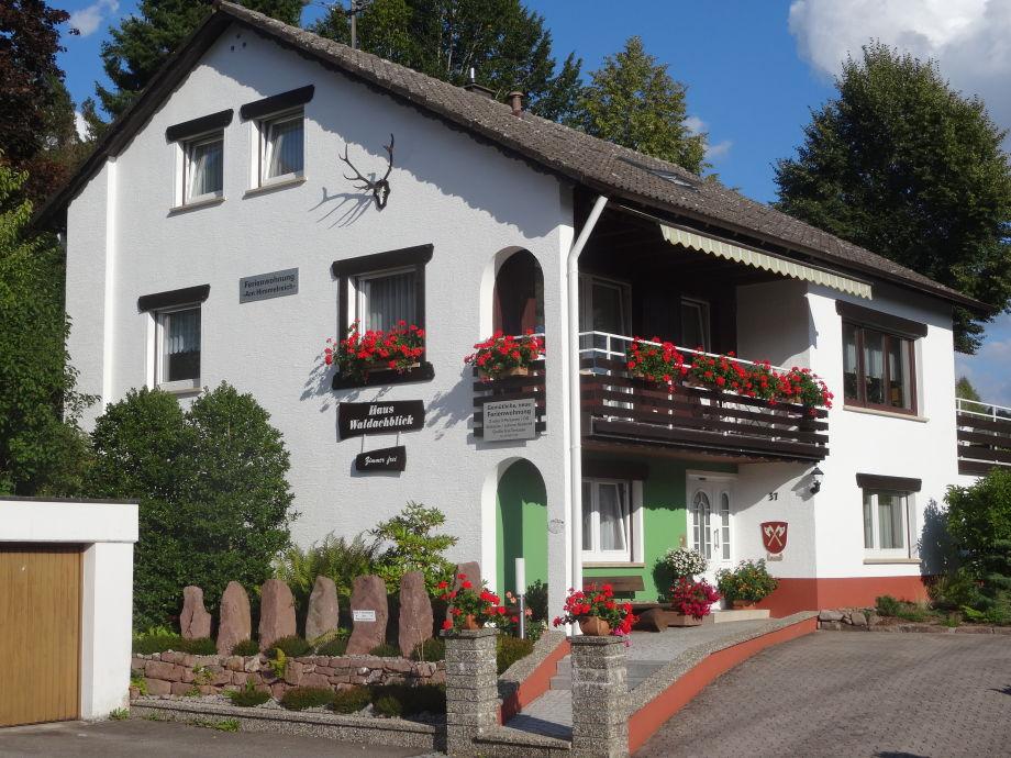 Ferienwohnung Am Himmelreich/Pension Haus Waldachblick