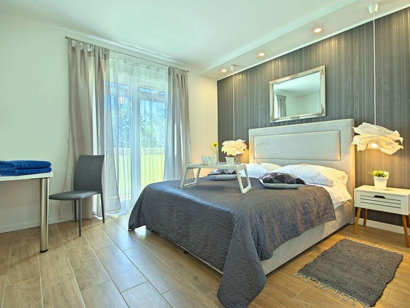 Ferienwohnung Villa Luka Apartment Gray mit Pool