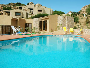 Holiday apartment TRILOCALE 6 LETTI tipo MARE  - COSTA PARADISO APPA
