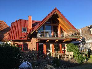 Ferienwohnung Haus Bodderbloom Dachgeschoß