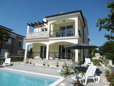 Ferienwohnung Villa Luka Apartent Orange mit Pool